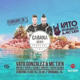 "Cabana Beach Festival Invites: ""VATO GONZALEZ & MC TJEN"""