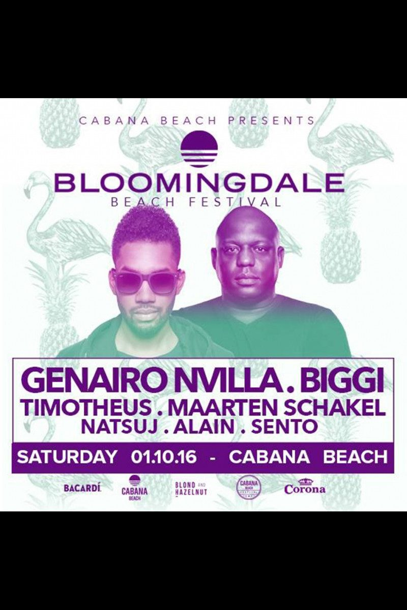 Cabana Beach Presents: Bloomindale Beach Festival