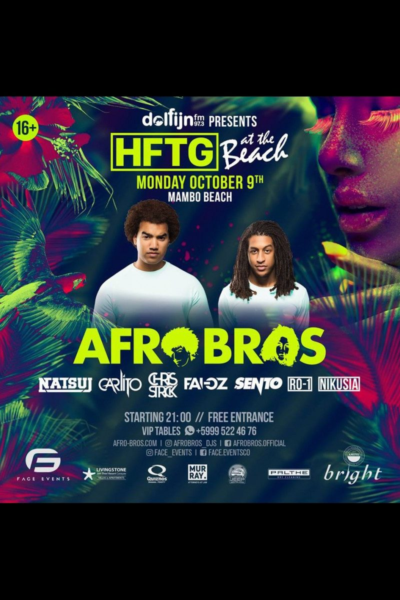 HFTG Presents: Afro Bros
