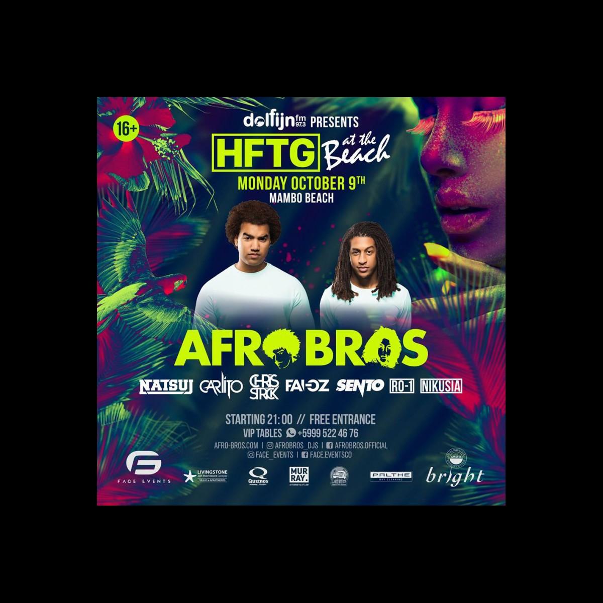HFTG Presents: Afro Bros