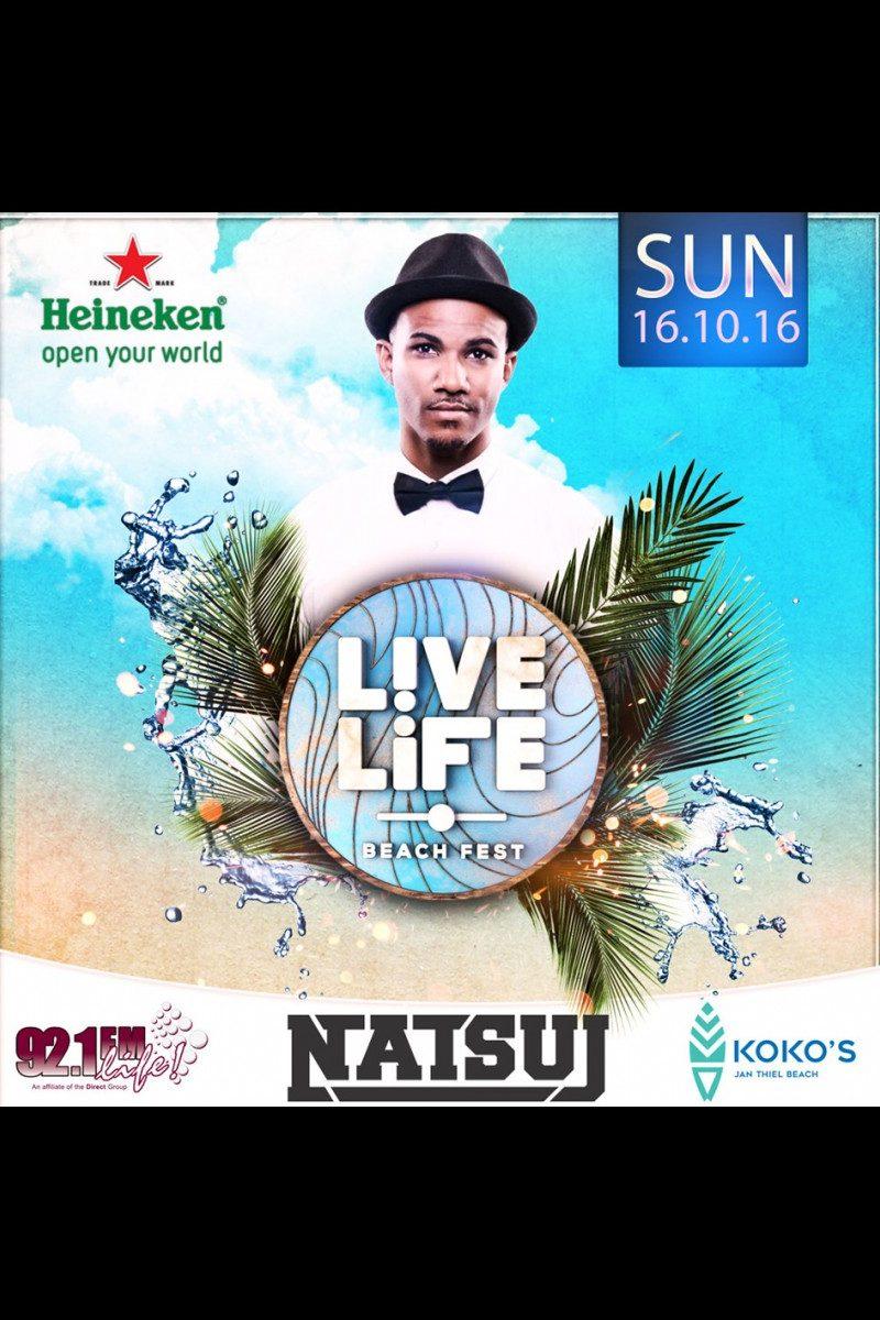 92.1 FM Curacao Presents: Live Life